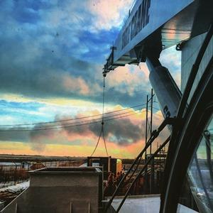 50 Ton Crane at Sundown
