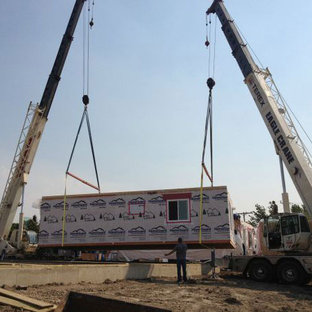 Modular Home Lifting